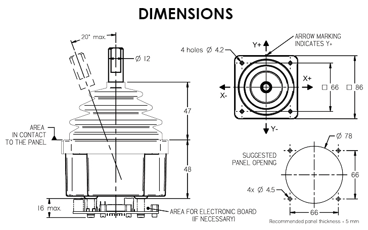 Dimensions J20 2