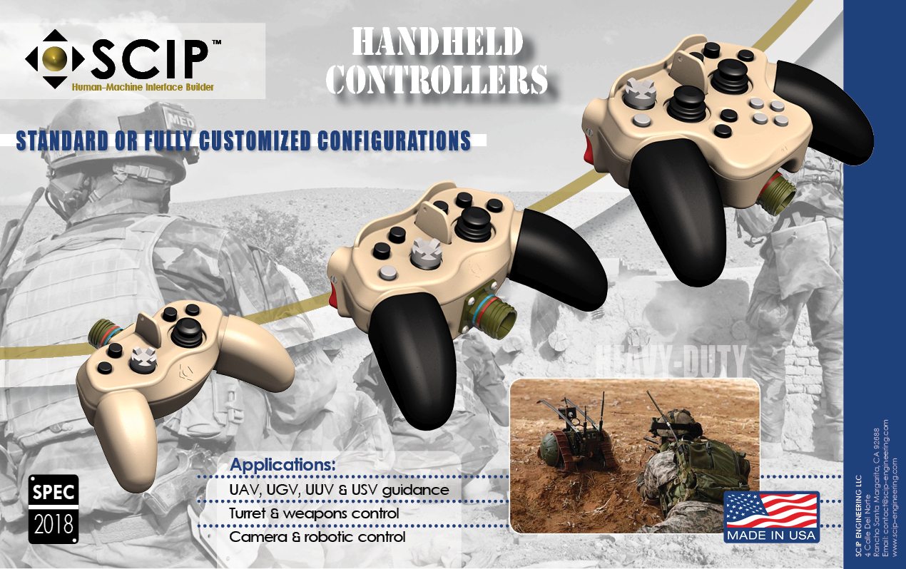 SCIP Engineering - Military grade controllers, Grips & Joysticks